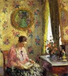Melcher's Lady Reading